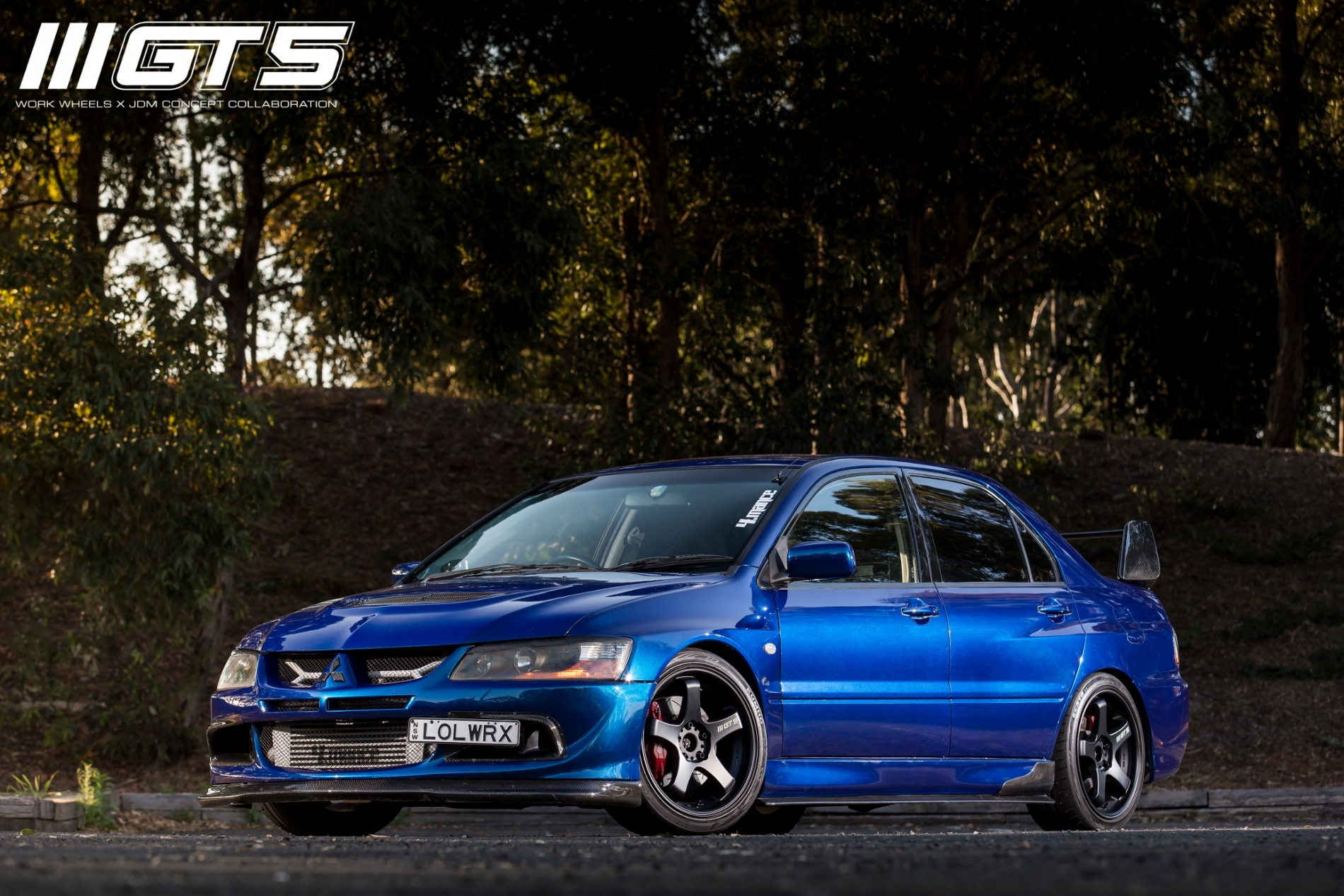 Work Wheels Australia X Jdm Concept Gt5 Blue Sti With White Rims Photo Gallery