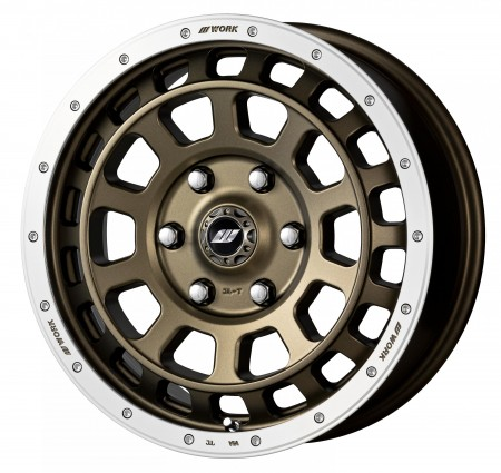 AHG BRONZE WITH MACHINED RIM [AHGRC] - 17 INCH