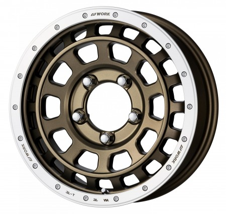 AHG BRONZE WITH MACHINED RIM [AHGRC] - 16 X 5.5 SIZE