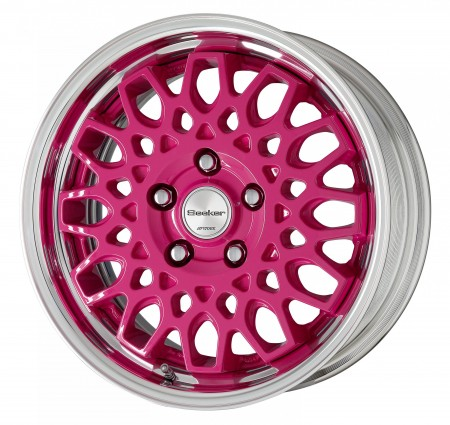 CASSIS HAZE [CHP] CENTRE DISK WITH POLISHED ANODIZED STEP RIM