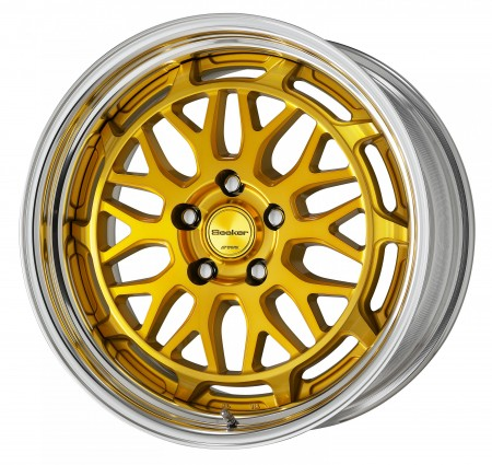IMPERIAL GOLD [IPG] CENTRE DISK WITH POLISHED ANODIZED STEP RIM
